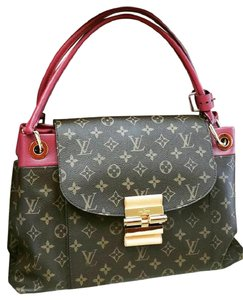 Louis Vuitton Tote in Brown and Bordeaux