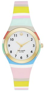 Kate Spade Kate Spade New York Women's Striped Silicone Rumsey Watch KSW1076