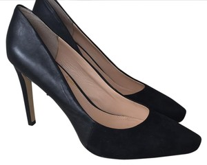 fe8bedd7b738 Banana Republic Black Leather  Suede Pumps. Size  US 9.5 Regular (M ...