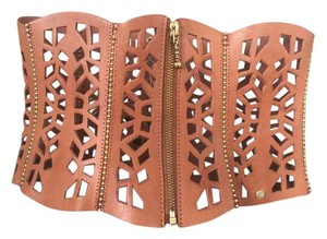 Anna Pellissari Arabella leather corset belt