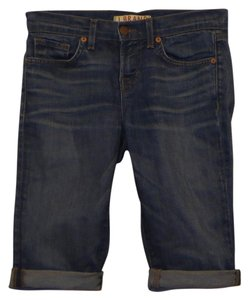J Brand Jean Denim Low Rise Bermuda Shorts Blue