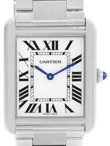 Cartier Cartier Tank Solo Large Stainless Steel Silver Dial Watch W5200014
