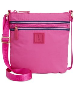 Tommy Hilfiger Pink Messenger Bag