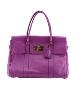 Mulberry Tote Leather Shoulder Bag