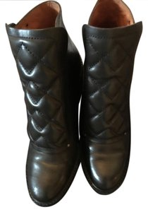 Marc by Marc Jacobs Quilted Leather Moto black Boots