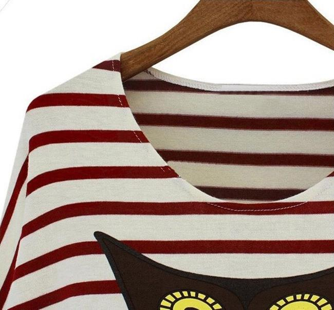 Other T Shirt White Red