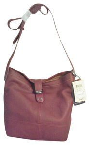 Lucky Brand Dempsey Leather Bucket Cross Body Bag