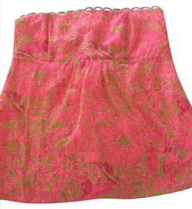 Lilly Pulitzer Top Pink and Green