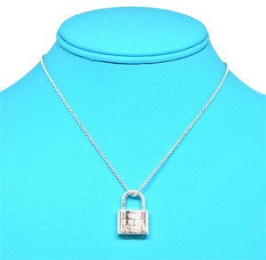 Tiffany & Co. Tiffany & Co. Sterling Silver Lock Necklace