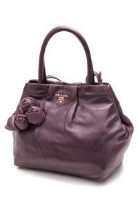 Prada Satchel in Viola (Purple)