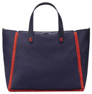 Tory Burch Crossbody Tote in Tory Navy