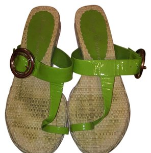 Juicy Couture green Sandals