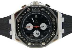 Techno Com by KC MENS TECHNO COM KC/ JOJO JOE RODEO BLACK DIAMOND WATCH