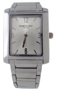 Kenneth Cole 10031346 Men's Silver Steel Bracelet With Silver Analog Dial