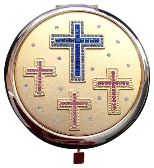 Preload https://item4.tradesy.com/images/gold-holy-cross-compact-mirror-2092288-0-0.jpg?width=440&height=440
