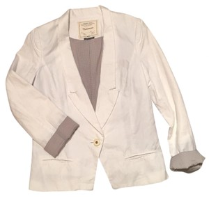 Anthropologie white Blazer