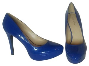 Nine West Blue Platforms