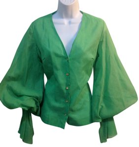 joy stevens Top lime