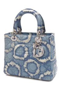 Dior Satchel in Blue, ivory