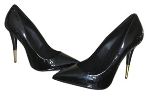 Giuseppe Zanotti Black Patent Leather Pumps
