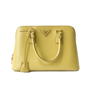 617e6fd58b9e4 Prada Tote in Yellow