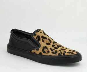 Gucci Multi-color Pony Hair Leopard Print Slip On Sneakers 8.5g / Us 9.5 386730 8062 Shoes