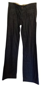 Gap 12 T Long 1969 Trouser/Wide Leg Jeans-Dark Rinse