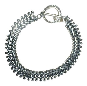 Stephen Dweck STEPHEN DWECK Sterling Silver Bike Chain Toggle Bracelet