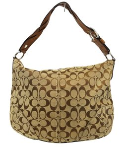 Coach F11859 Signature Hobo Bag