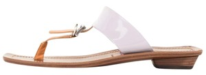 Prada brown & lavender Sandals