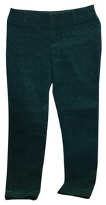 Anthropologie Straight Pants green