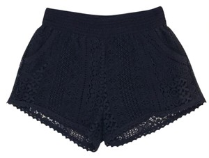 Other Lace Mini/Short Shorts Blue