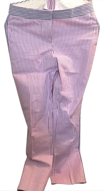 Item - Lilac Stripes with Navy Striped Accents Pants Size 0 (XS, 25)
