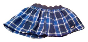 Hollister Mini Skirt Blue