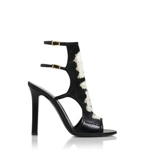 Tamara Mellon Black/White Sandals