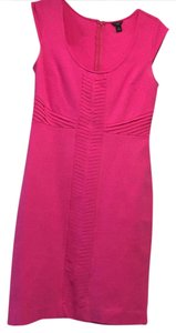 Ann Taylor short dress bright pink on Tradesy