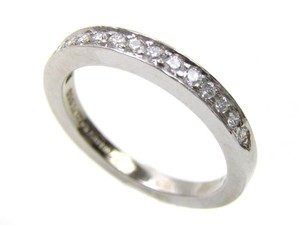 Tiffany & Co. Tiffany & Co. Ladies Platinum And Diamond Wedding Band