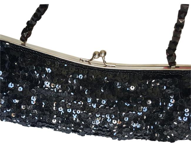 Item - Stunning Beaded & with Beaded Handle Black Sequins and Beads Clutch