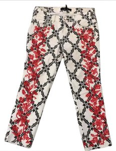 Isabel Marant Capri/Cropped Pants white with pattern