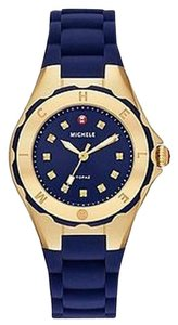 Michele BRAND NEW MICHELE Jelly Bean Petite Gold- Navy Watch