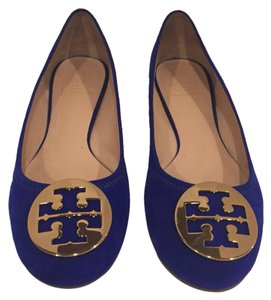 Tory Burch Royal Blue Flats