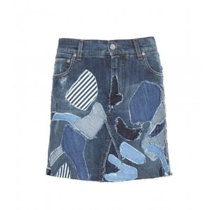 Dolce&Gabbana Mini Skirt BLUE
