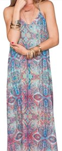 Great Barrier Reef Print Maxi Dress by Show Me Your Mumu