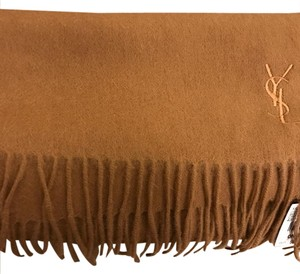 Saint Laurent YSL Camel Scarf