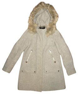 J.Crew Winter Parka Fur Coat