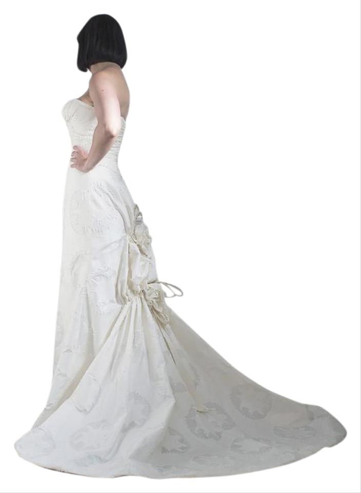 Carolina herrera strapless wedding gown wedding dress on Carolina herrera wedding dresses for sale