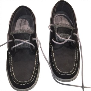Sperry black and brown Athletic