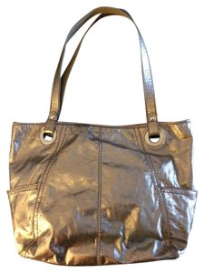 Fossil Tote in Champagne