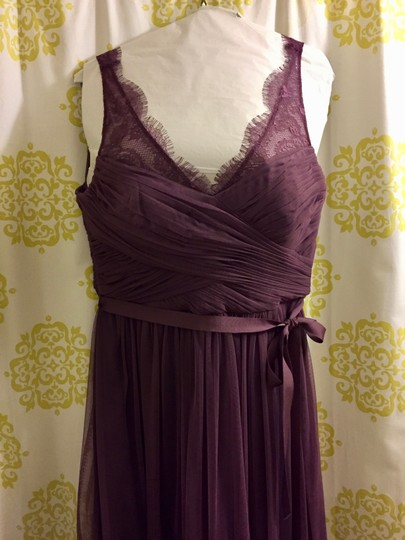 BHLDN Antique Orchid Tulle and Polyester Lining Fleur Feminine Bridesmaid/Mob Dress Size 10 (M) Image 1