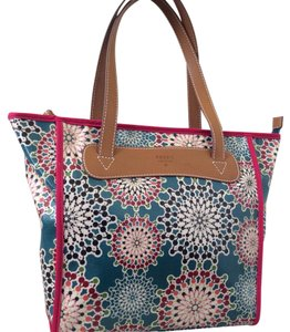 Fossil Tote in Teal